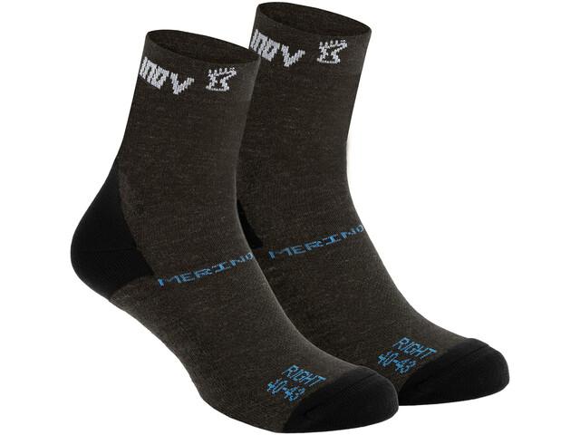 inov-8 Merino Hoge Sokken, zwart